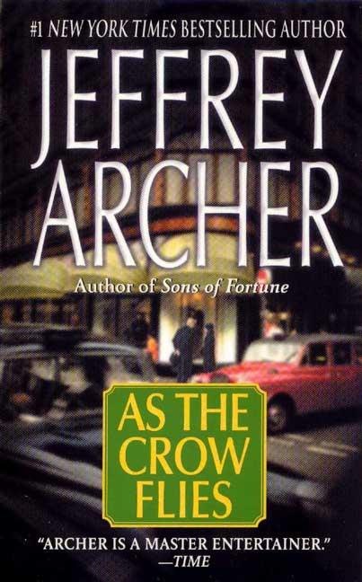 As the Crow Flies By Archer, Jeffrey